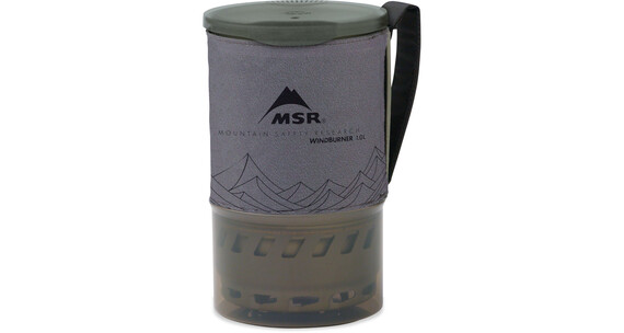 MSR WindBurner Pot 1 L Grey